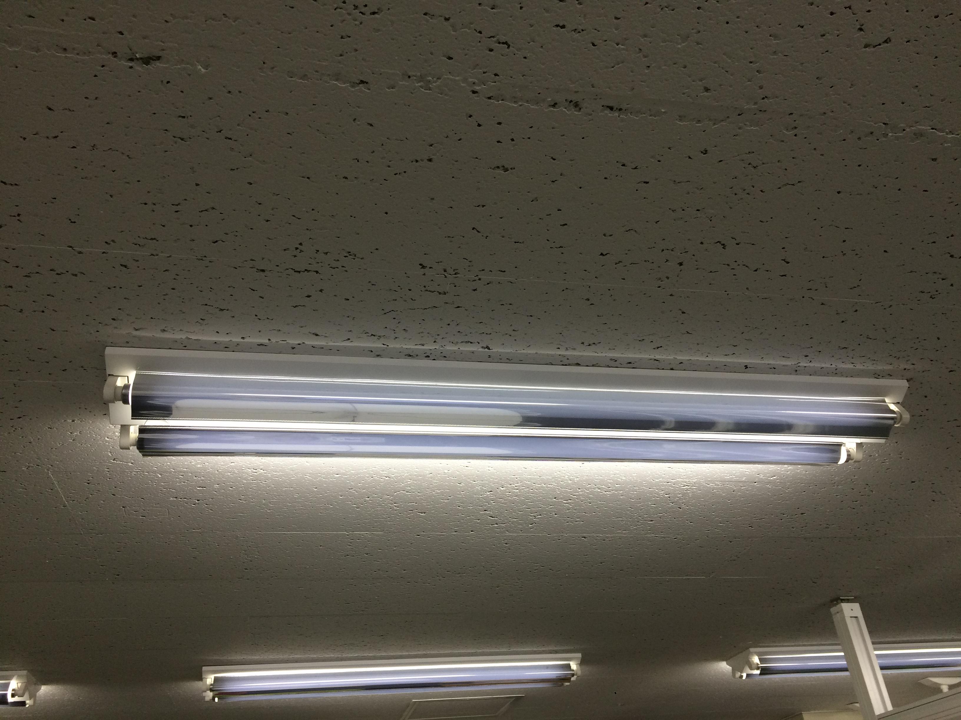 蛍光灯のカバー