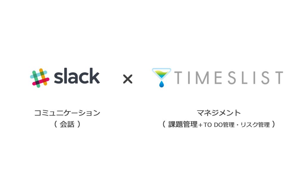 Slack(スラック) × TIMESLIST(タイムズリスト)